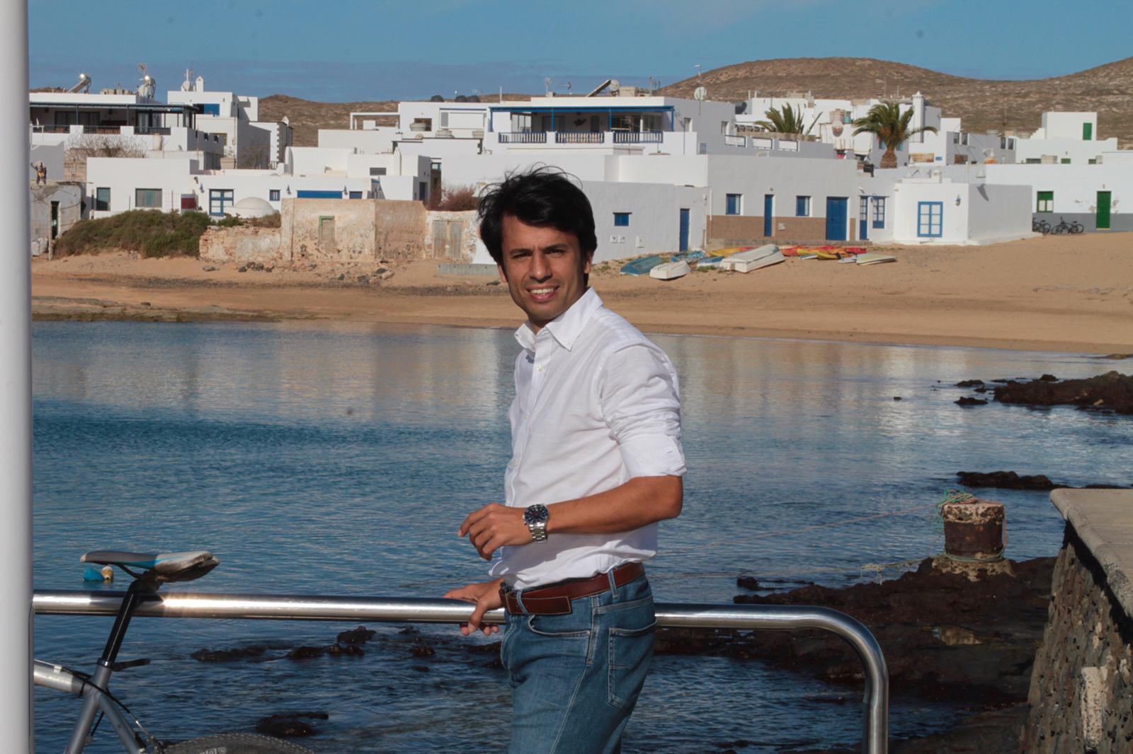 Marcos Bergaz, portavoz del PSOE en Teguise